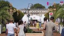 Nancy : inauguration du Livre sur la Place 2016