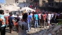 Siria: 24 muertos en ataques aéreos contra ciudad rebelde