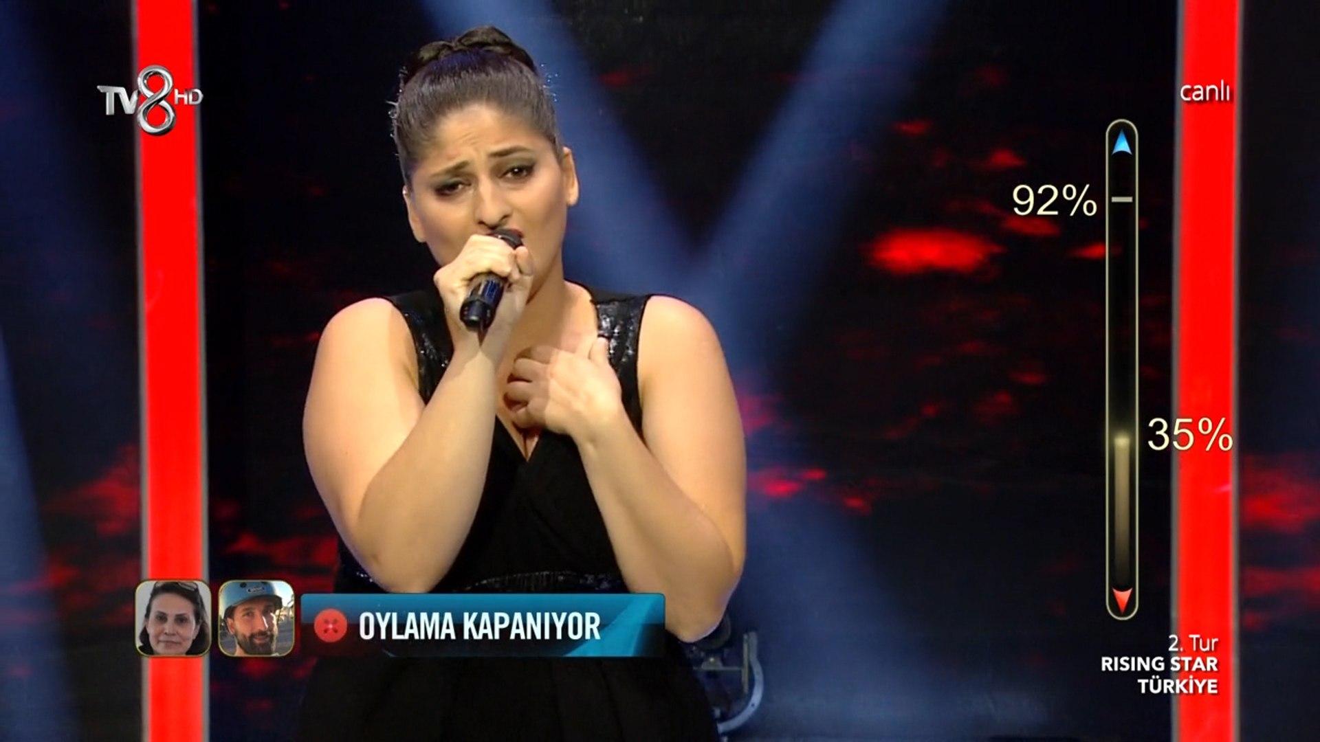 Damla Sarıkaya 'Mazi Kalbimde Bir Yaradır' - Rising Star Türkiye 6 Eylül 2016