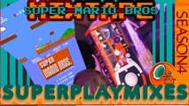 Super Mario Bros One Life Clear Superplay Mix