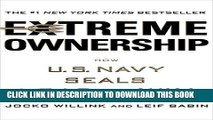 New Book Extreme Ownership: How U.S. Navy SEALs Lead and Win