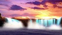 Звуки природы - водопад для глубокого сна, отдыха, медитации. Музыка для души.