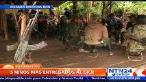 Tras meses de incertidumbre: inicia proceso de salida de menores que permanecen en filas de las FARC