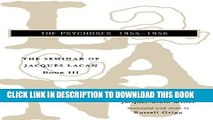[PDF] The Seminar of Jacques Lacan: The Psychoses (Vol. Book III)  (The Seminar of Jacques Lacan)