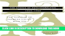 [PDF] The Seminar of Jacques Lacan: The Ethics of Psychoanalysis (Vol. Book VII)  (The Seminar of