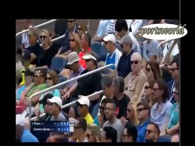 SPORTS WORLD US OPEN TENNIS 2016 D.thiem vs p carreno busta_2
