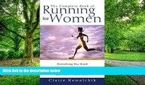 Big Deals  The Complete Book of Running for Women  Best Seller Books Best Seller