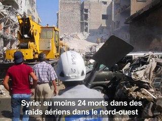 Syrie: 58 morts dans de nouveaux raids avant la trêve acceptée par Damas