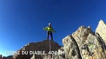 traversee des Aiguilles du diable, Mont-Blanc du Tacul