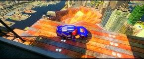 HULKBUSTER IRON MAN Driving His New Custom Rayo Mcqueen Cars! (Disney Pixar Cars)
