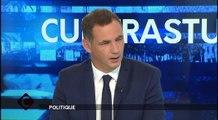 Cuntrastu - Gilles Simeoni, président du Conseil exécutif de Corse