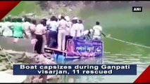 Boat Capsizes During Ganpati Visarjan, 11 Rescued
