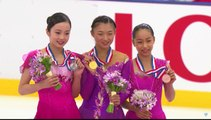 20160911 ISU Junior GP -Yokohama- (Ladies of Japan)