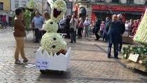 Exposition des chars fleuris