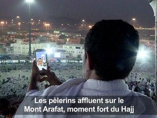 La Mecque: les pèlerins affluent sur le Mont Arafat, moment fort du hajj (2)