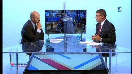 Christophe Sirugue invité de Dimanche en politique sur France 3 Bourgogne