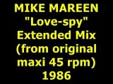 "MIKE MAREEN  ""Love-spy"" Maxi 45 rpm"
