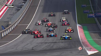 Fórmula V8 - Etapa de Red Bull Ring (Corrida 2): Largada