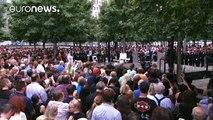 Les Américains commémorent les attentats du 11 septembre 2001