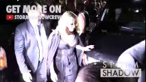 Madonna and daughter Lourdes at the Alexander Wang Ready to Wear Fashion Show in New York City