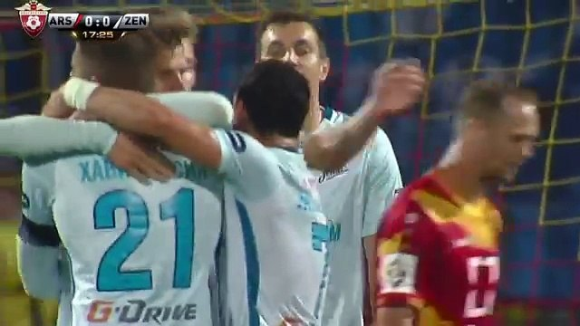 All Goals HD- Arsenal Tula vs Zenit 0-5 (Russian Premier League) 11.09.2016 HD