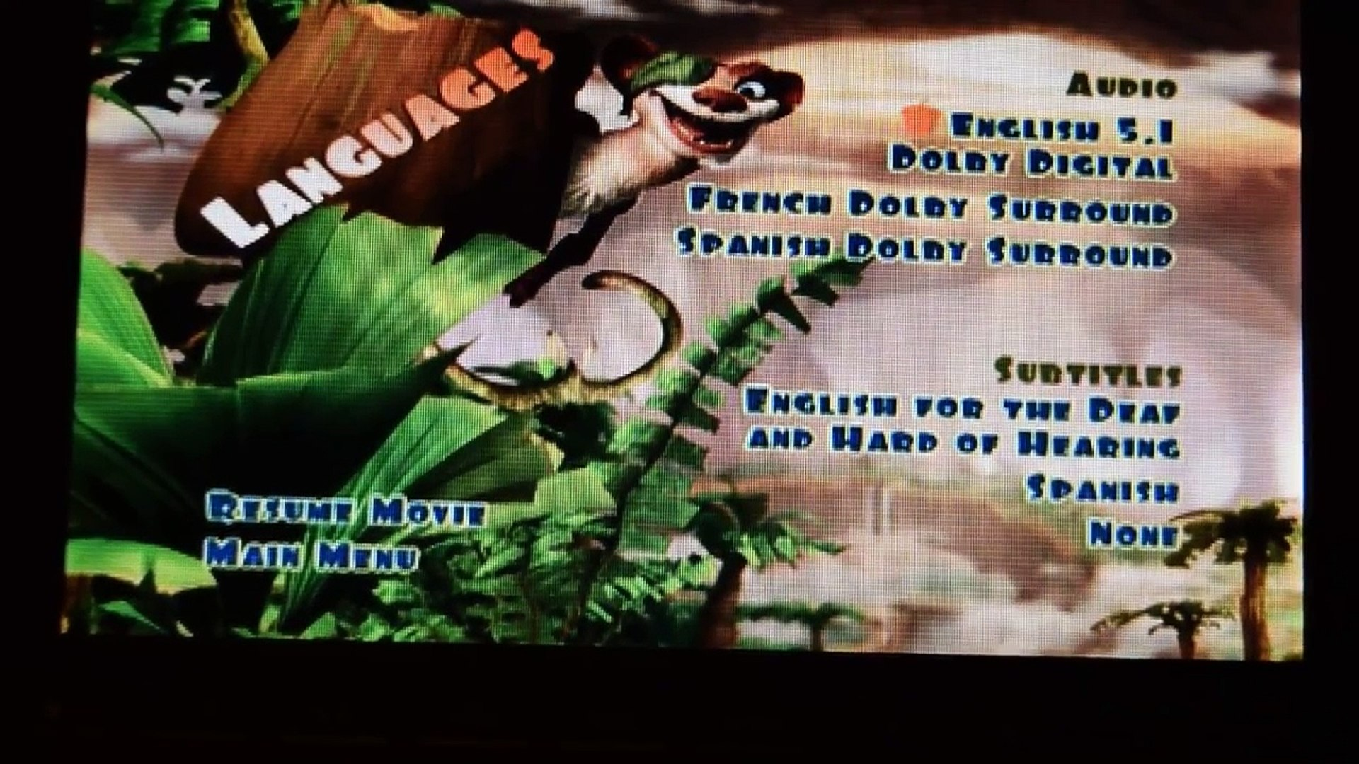 Ice Age Dawn Of Dinosaurs Dvd Menu Walkthrough Movie Gudie Video Dailymotion