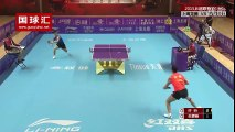 Possibly the Greatest Table Tennis Rally Ever