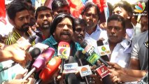 T Rajendar _ Karnataka sending sewage down Cauvery to Tamil Nadu _ Latest Speech _ Water Dispute