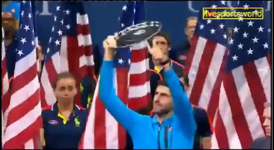 SPORTS WORLD US OPEN 2016 TROPHY  PRESNTATION(2)