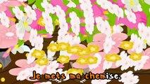 comptines francaises PROMENONS nous dans les bois - chanson avec parole francaise