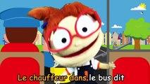 les roues de l'autobus chanson anglais - les roues du bus chanson pour enfants - chanter avec nous