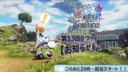 World of Final Fantasy : Comparaison PS4/PS Vita