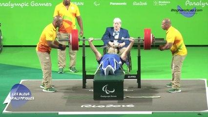 Souhad Ghazouani - Médaille d'argent haltérophilie -73Kg - Jeux Paralympiques Rio 2016