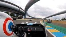 En Caterham avec Le Tone au Mans