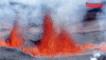 La Réunion: les images de l'éruption du Piton de la Fournaise