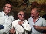 Lascaux 4 visite de Simon Coencas le dernier des inventeurs avec Germinal Peiro et Thierry Félix