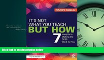 Popular Book It s Not What You Teach But How: 7 Insights to Making the CCSS Work for You
