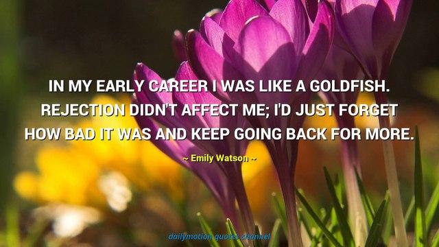 Emily Watson Quotes #2