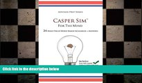 different   Casper Sim for the Mind: 24 High-Yield Word-Based Scenarios + Answers (Advisor Prep)