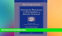 there is  Grad Guides BK5: Engineer/Appld Scis 2007 (Peterson s Graduate Programs in