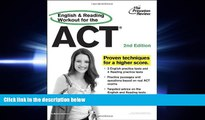 complete  English and Reading Workout for the ACT, 2nd Edition (College Test Preparation)