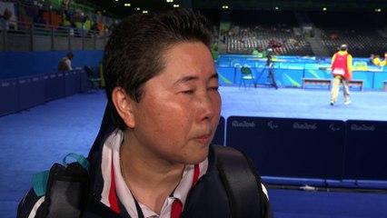 Thu Kamkasomphou - Médaille d'argent Tennis de Table class 8 - Jeux Paralympiques Rio 2016
