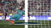 Barcelona 0 Flamengo 1 (superstar adv shooting adv through balls pass sup1)