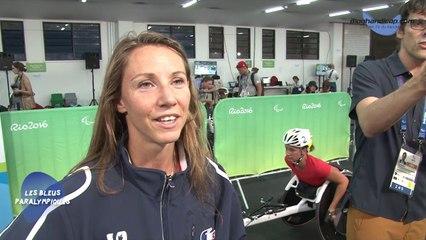Marie-Amélie Le Fur - Médaille d'Or 400m T44 - Jeux Paralympiques Rio 2016
