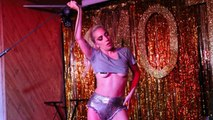 Lady Gaga's Performance of 'Perfect Illusion' at London Club