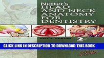 New Book Netter s Head and Neck Anatomy for Dentistry