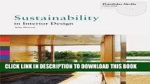 [PDF] Sustainability in Interior Design (Portfolio Skills. Interior Design) Full Online