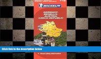 READ book  Michelin Map Germany Austria Benelux Czech Republic  719 (Maps/Country (Michelin))