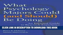[PDF] What Psychology Majors Could (and Should) Be Doing Full Collection