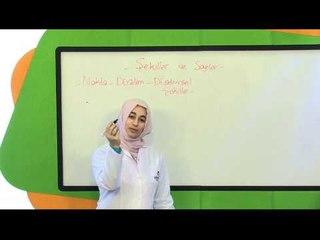 İlköğretim 3. Sınıf Matematik Eğitim Seti Nokta Düzlem Düzlemsel Şekiller